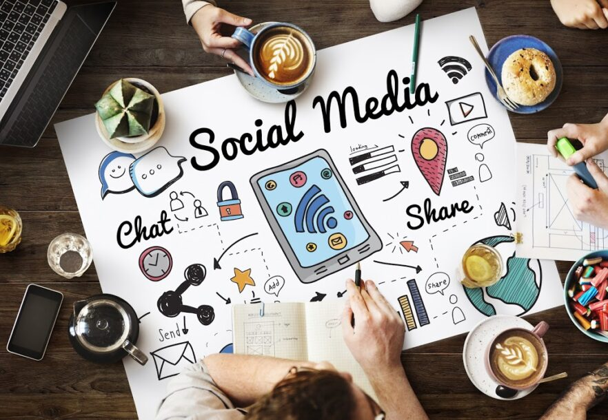 social media, digital, online content