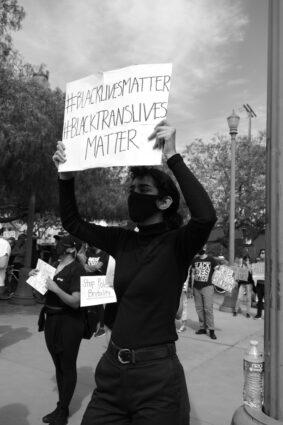 black lives matter, black trans lives matter, protest