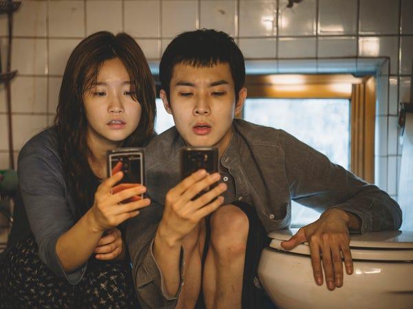 Parasite, South Korea, entertainment