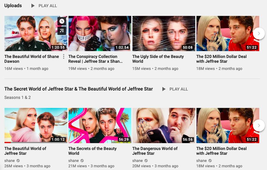 YouTuber, Influencer, Trending